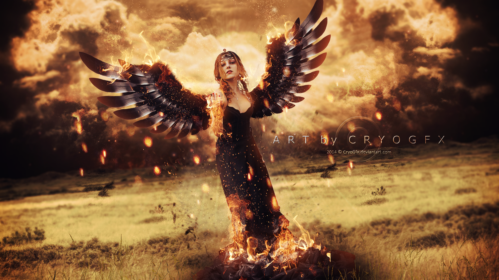 Queen of Fire by CryoGfx