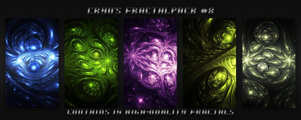 Cryo's DA Fractalpack #8 by CryoGfx
