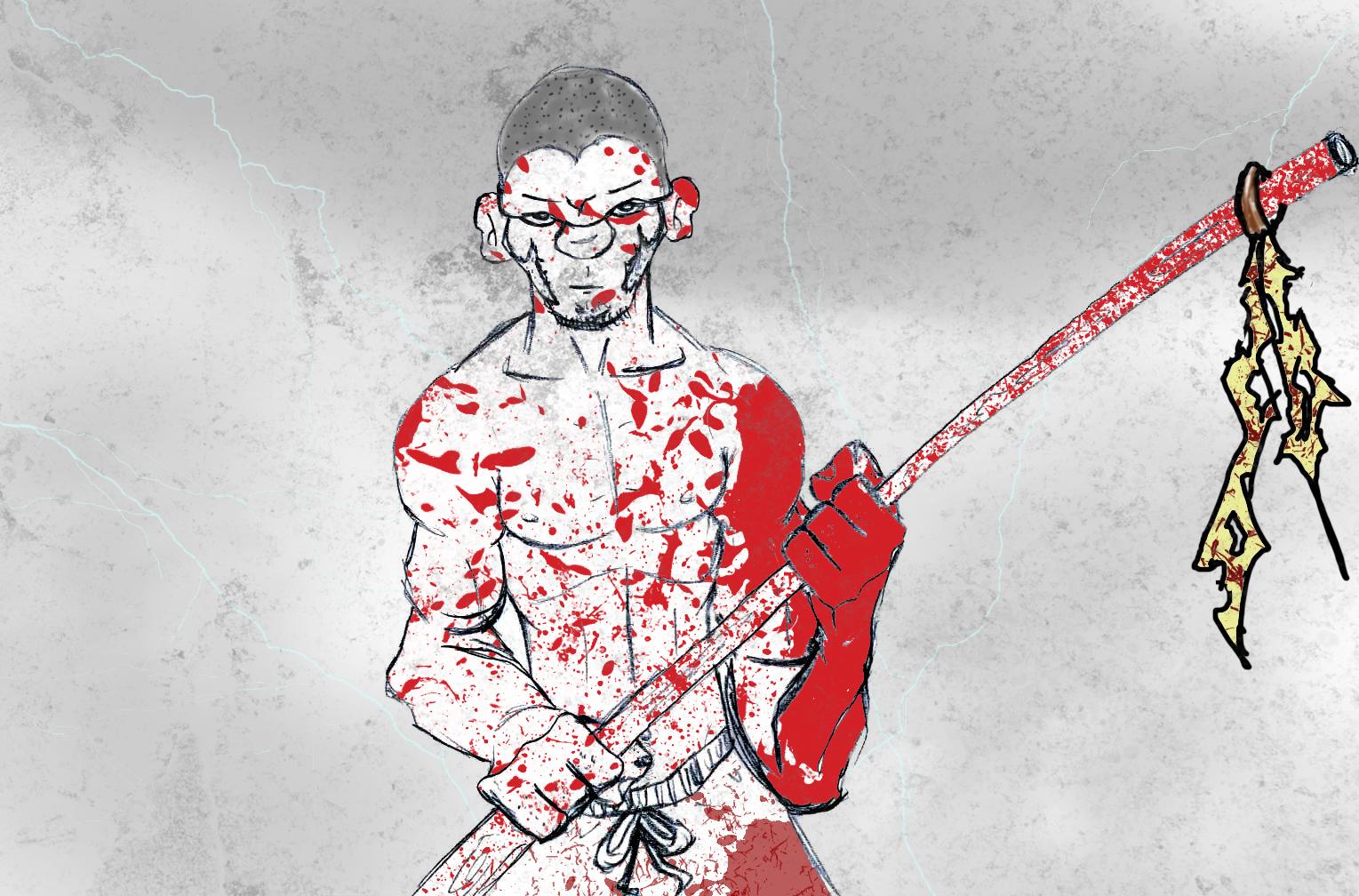 BLOODY MONK