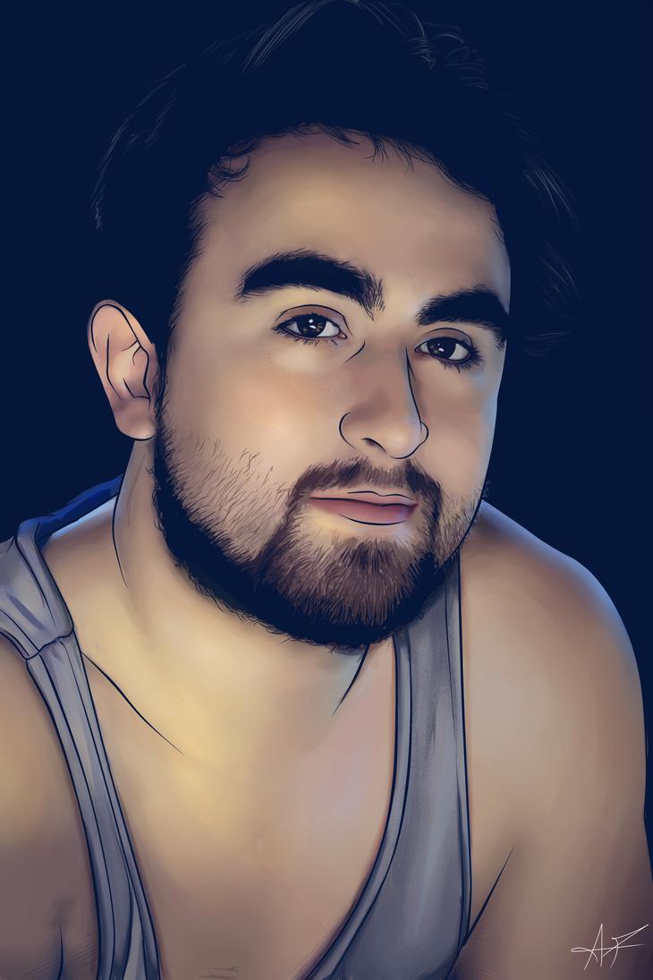 Portrait 4 by Scorch-Art