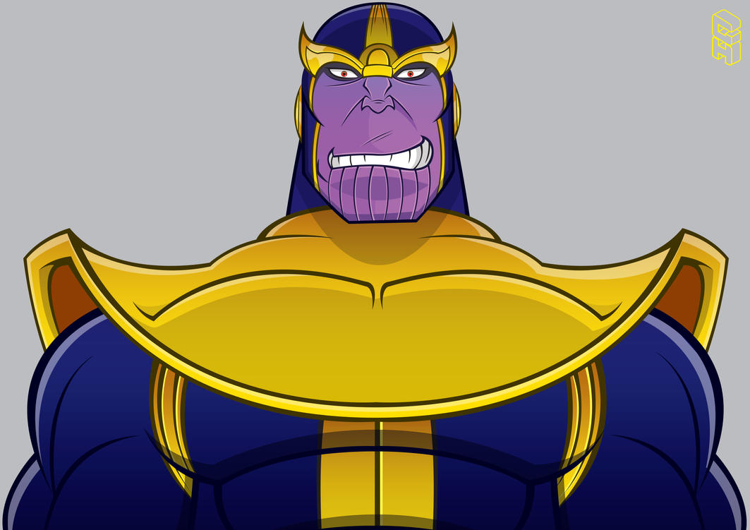 Thanos by GHussain