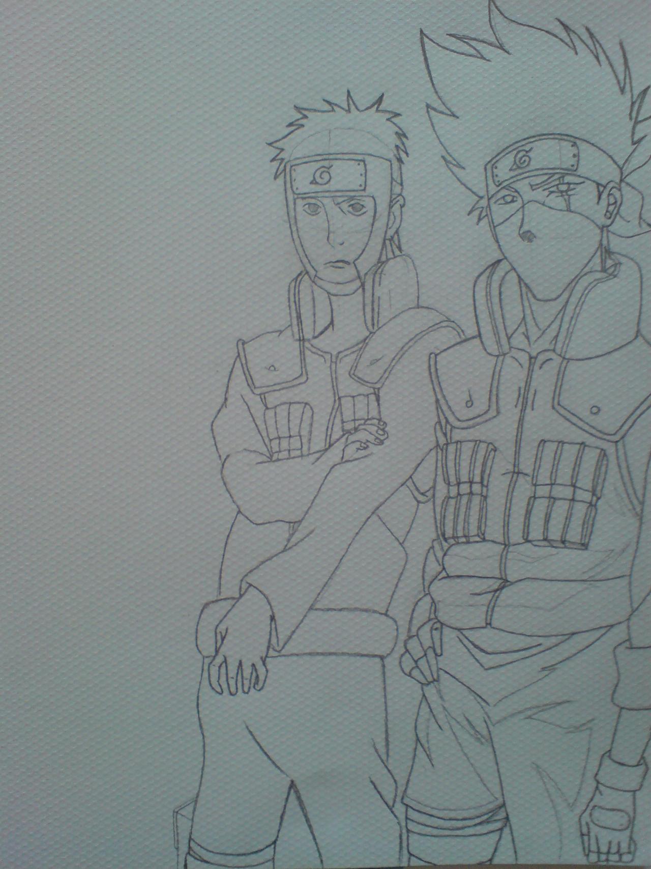 Kakashi and Yamato 2008 by GHussain
