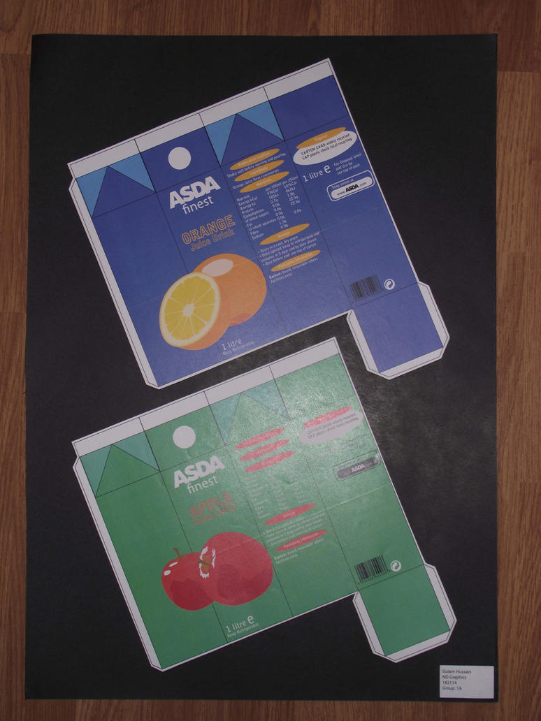 Juice Carton Final 2 - ASDA Brand by GHussain
