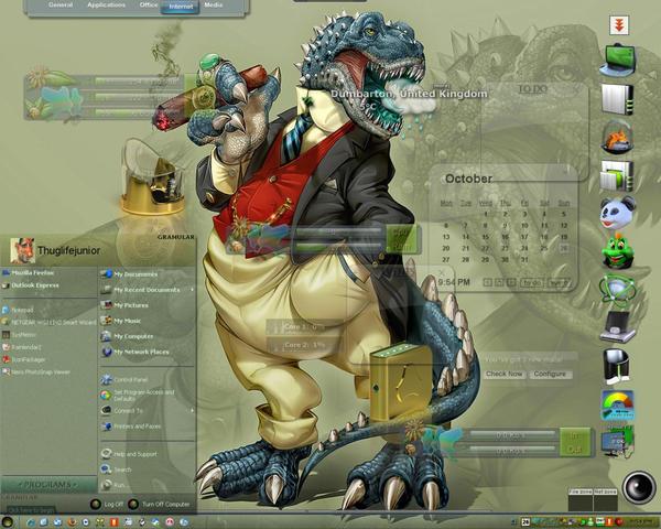 Thuggo Brontosaurus by thuglifejunior