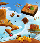 50- Puzzle Plank Galazy