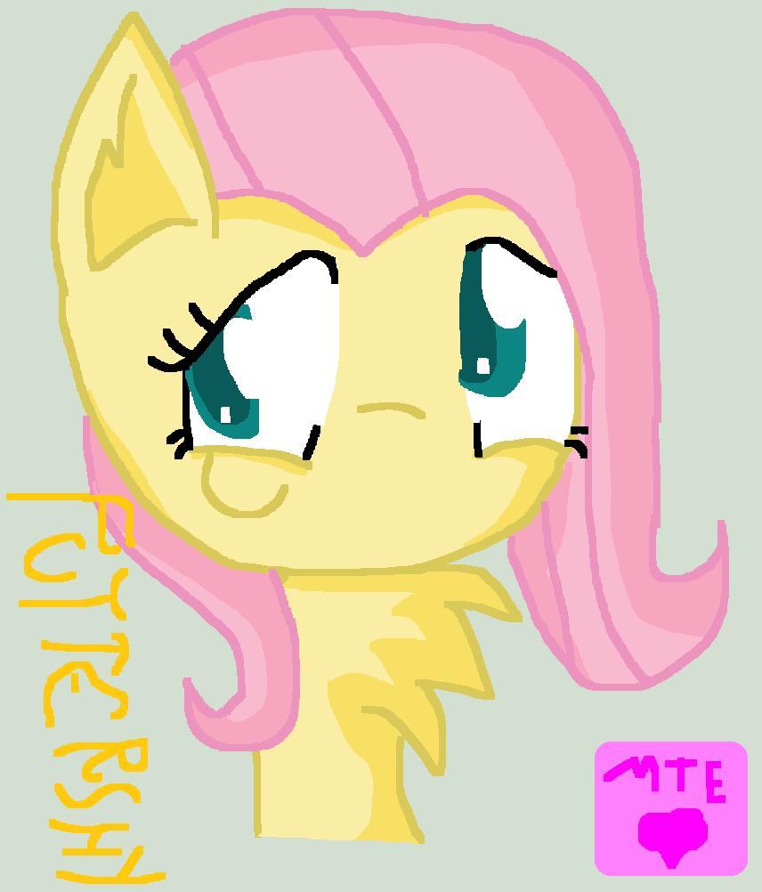 Fluttershy In My MLP Version by MeylinTheHedgehog