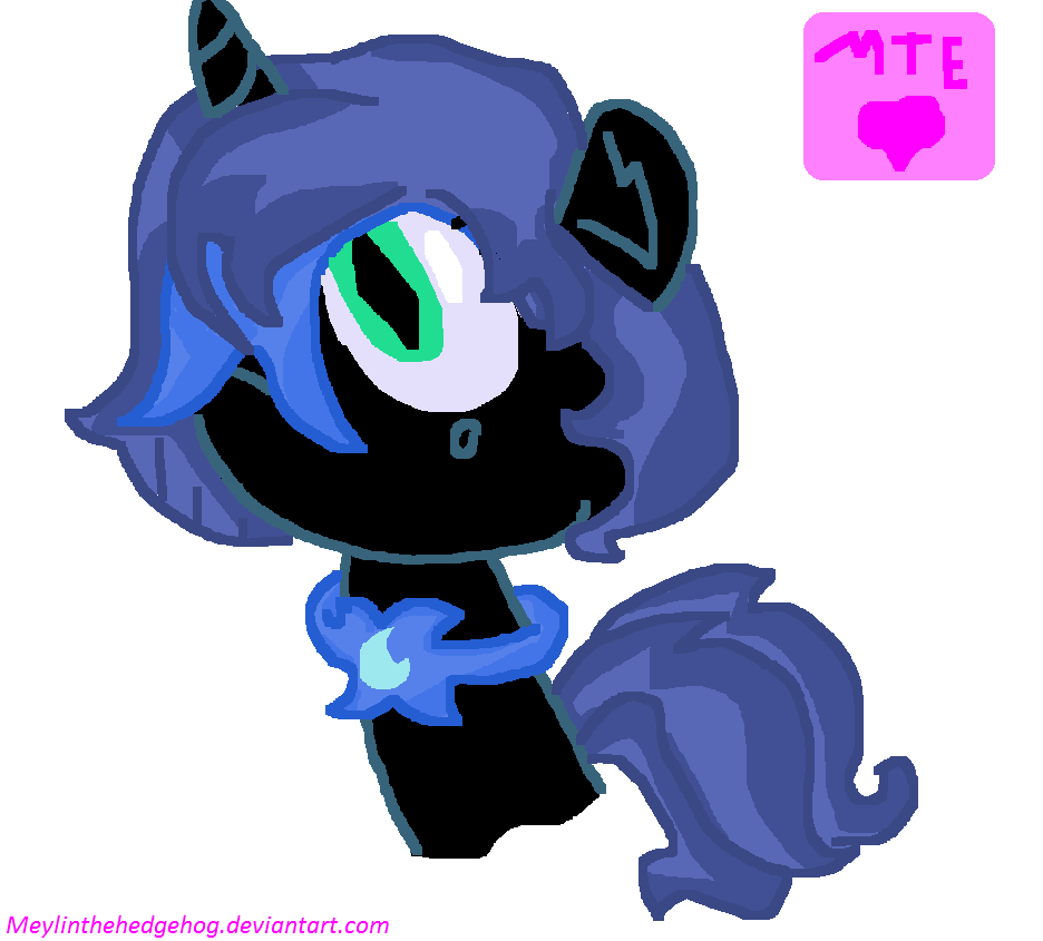 Nightmare Moon Filly by MeylinTheHedgehog on DeviantArt