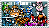 We Are The Robots - MM9 Stamp by Kalari-Lupus