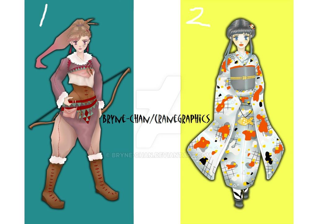 Digital Character Art by Bryne-chan