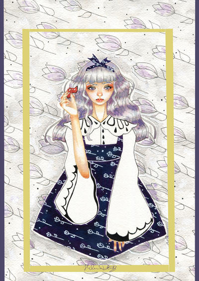 An Unimpressed Alice by Bryne-chan