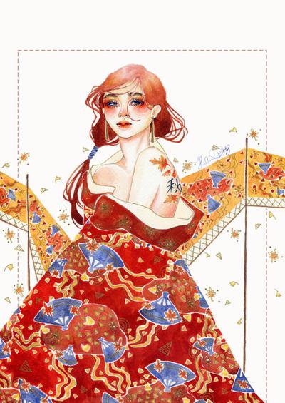 Akane Fall by Bryne-chan