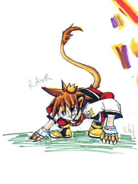 kingdom hearts a rumor and a crossover tribal unison