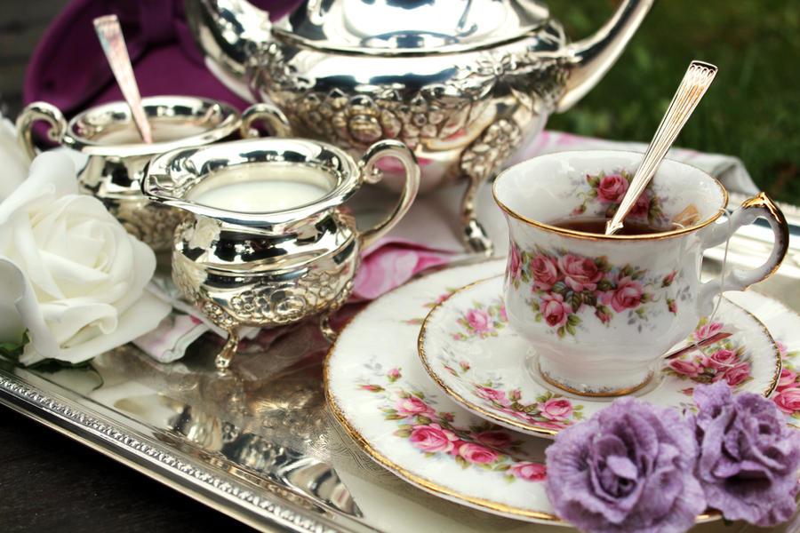 vintage tea time by in93 on deviantart. Black Bedroom Furniture Sets. Home Design Ideas