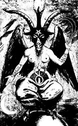 Satanic Baphomet by Moribvnd