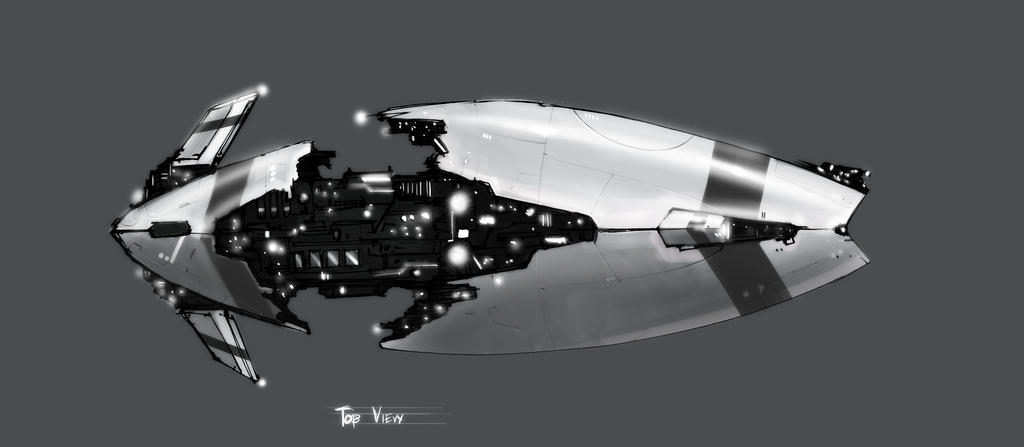 Eve Online Top View Prelim WIP by Baranha
