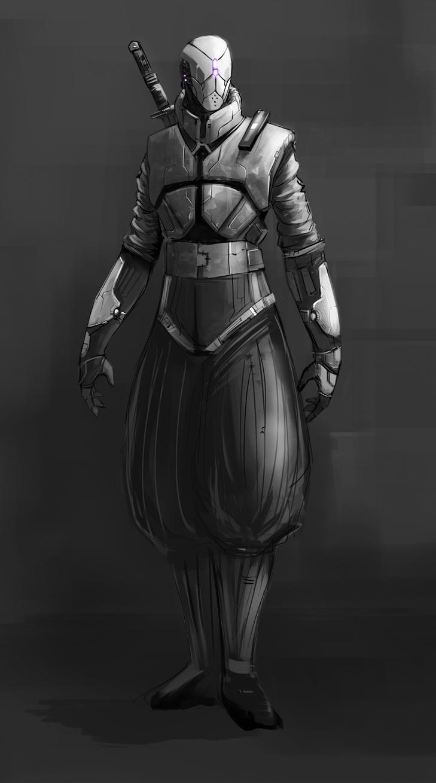 Future Ninja Armor Future Ninja by BaranhaFuturistic Ninja Armor
