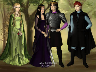 The 4 by PrincessVampireKitty