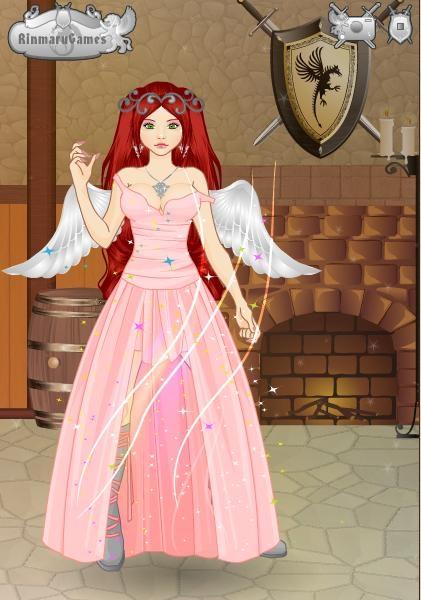 Rachel - Angel by PrincessVampireKitty