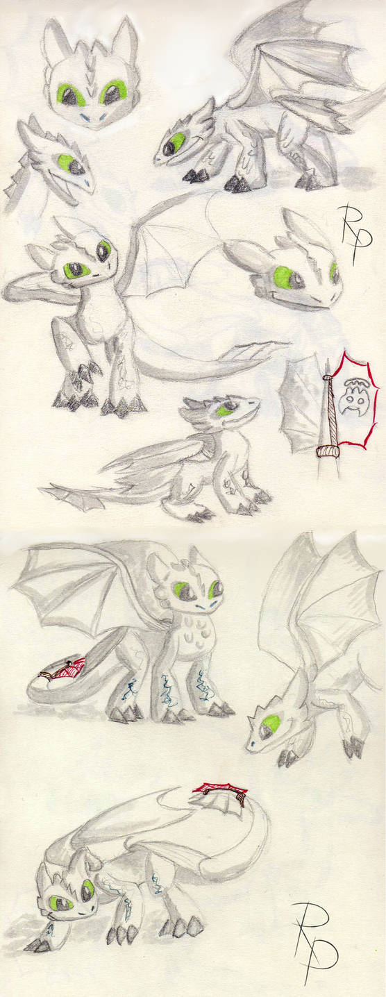Toothless sketch 30.11.