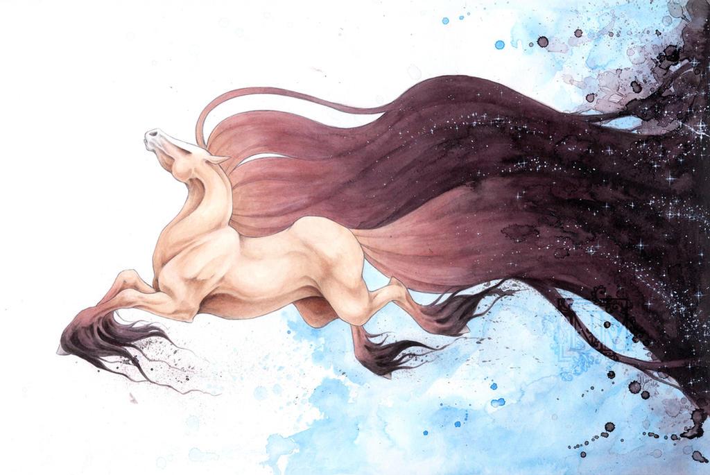 Galaxy Horse By Captainnutmeg On Deviantart