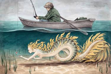 Just Fishing... by CaptainNutmeg