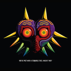 Majora's Mask - vector art