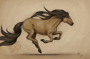 Horse Sketch 1