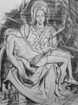 Study of Michelangelo sculpture