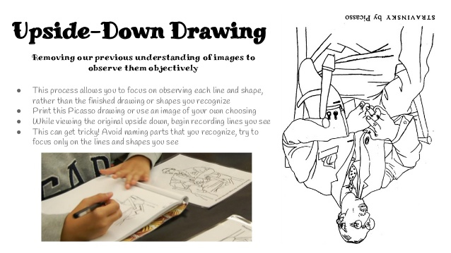 Upside down drawing by ProfessorPicasso