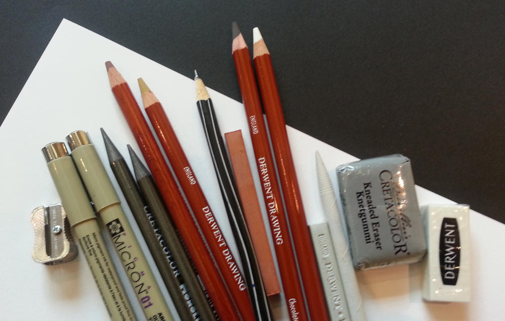 Drawing Materials by ProfessorPicasso
