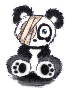 panda emo girl by - photo #11