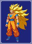 Super Saiyan 3 Goku|Dragon Ball Z: Extreme Butoden
