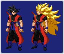 Xeno Goku   Dragon Ball Z: Extreme Butoden by MPadillaTheSpriter