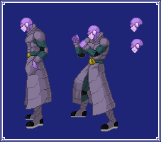 Hit (Concept Art) | Dragon Ball Z: Extreme Butoden by MPadillaTheSpriter