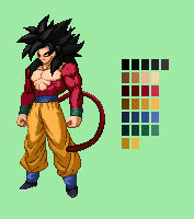 SS4 Goku | Dragon Ball Z: Extreme Butoden