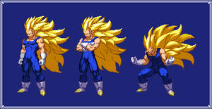 SS3 Vegeta | Dragon Ball Z: Extreme Butoden
