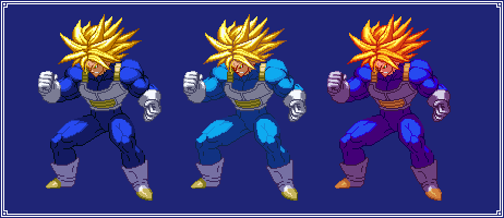 Ultra Trunks | Dragon Ball Z: Extreme Butoden by MPadillaTheSpriter