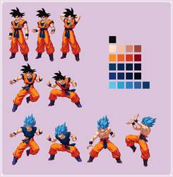 Goku | Dragon Ball Super: Broly by MPadillaTheSpriter