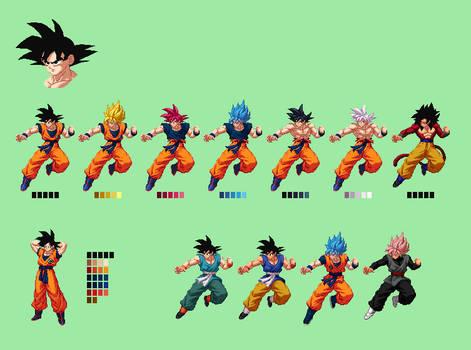 Goku | Dragon Ball Z: Extreme Butoden Sprites