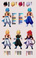 Gogeta   Dragon Ball Z: Extreme Butoden