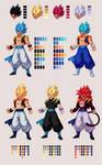 Gogeta | Dragon Ball Z: Extreme Butoden