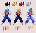 Vegito Blue | Dragon Ball Z: Extreme Butoden