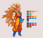 Super Saiyan 3 Goku | DBZ: Extreme Butoden
