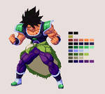 Wrathful Broly | Dragon Ball Z: Extreme Butoden