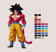 Super Saiyan 4 Goku | DBZ: Extreme Butoden