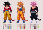 Super Saiyan 4 Goku (Alt.) | DBZ: Extreme Butoden