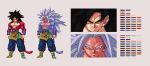 Super Saiyan 5 Goku | DBZ: Extreme Butoden