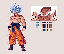 Mastered Ultra Instinct Goku | DBZ: EB