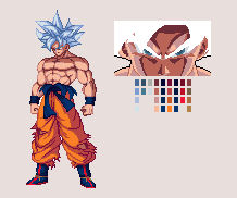 Mastered Ultra Instinct Goku   DBZ: EB