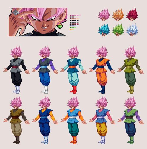 Goku Black | Dragon Ball Z: Extreme Butoden